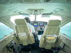 Pilot (adamfreeman) Tags: plane tour guide airplane pilot belize san pedro orange walk