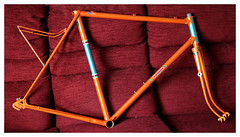 1950's Andy McNeil Frame. (Paris-Roubaix) Tags: andymcneilbicycle vintagescottishbicycle govan glasgow 1950s reynolds531doublebuttedtubing nervexprofessionallugs handmadebicycleframe 925 road