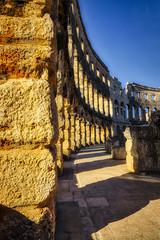 Pula Highlight (orkomedix) Tags: canon eosr rf24105f4l croatia pula amphitheatre roman architectural architecture structure sightseeing vacation phototrip
