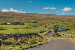 Force Foot and Stoney Hill Farms Harwood Upper Teesdale 2 Oct 2019 (Richard Laidler) Tags: aonb agriculture areaofoutstandingnaturalbeauty autumn bluesky bright buildings countydurham earlyautumn farming farms fells fine globalgeopark harwood hillfarms hills hillside landscape moorland moors northeastengland northpennines northpenninesaonb pennine sunny sunshine teesdale teesdalelandscape upland upper upperteesdale whiteclouds whitewashed