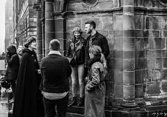 Mercat Cross (Cycling-Road-Hog) Tags: beard beret blackwhite candid canoneos750d citylife colour edinburgh edinburghstreetphotography fashion monochrome people places royalmile scarf scotland street streetphotography streetportrait style urban