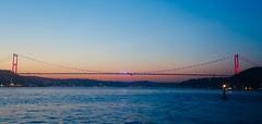 Second Bridge (FSM) on Bosphorus (aykutgebes) Tags: istanbul bosphorus sunset sea bridge city