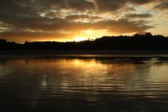 Sunset at Portmarnock Beach yesterday (janpaulkelly) Tags: sunsetlight sunset water beach nature outside autumn irishsea dublin sky reflections sun sand dunes evening
