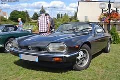 Jaguar XJSC (Monde-Auto Passion Photos) Tags: voiture vehicule auto automobile cars jaguar xjsc xjs noir black sportive ancienne classique rare rareté collection rassemblement saintpierrelèsnemours france