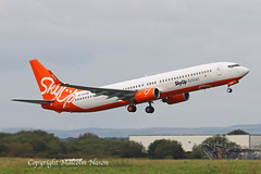 B737-96N OE-IDW (UR-SQI) SKYUP (shanairpic) Tags: jetairliner b737 boeing737 passengerjet shannon gecas oeidw skyup ursqi