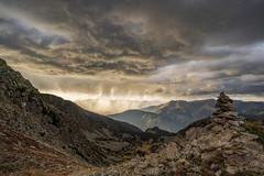 Storm in Pyrenees (StarCitizen) Tags: pyrenees mountains clouds sky autumn andorra landscape scenery scenic valley sunrays fog rain sunset epic elitegalleryaoi bestcapturesaoi aoi