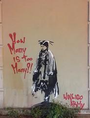 Toronto 2019 (bella.m) Tags: graffiti toronto canada art streetart urbanart windigoarmy howmanyistoomany stencil pochoir