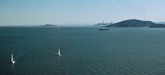 San Francisco Bay from Richmond-San Rafael Bridge (mahteetagong) Tags: northern california sonoma nikon d80 35mmf18 sanfrancisco bay bridge sailboat