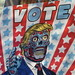 2019 VOTE Poster Times Square NYC with a They Live Touch 3648