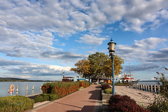 (zedspics) Tags: zedspics keszthely balaton magyarország hungary hongarije ungarn plattensee molo pier port 1909 autumn fall