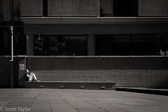 Last Rays (Scrufftie) Tags: southwark street blackwhite photoshop fujifilm streetphotographyworkshop bankside london monochrome streetphotography fuji style southbank acros mono lightroom bw diamondclassphotographer flickrdiamond