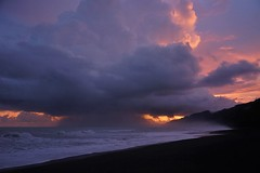Touching Down (rlt64) Tags: storms clouds costa rica nature oceans
