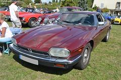 Jaguar XJS (Monde-Auto Passion Photos) Tags: voiture vehicule auto automobile cars jaguar xjs coupé red rouge sportive ancienne classique collection rare rareté rassemblement saintpierrelèsnemours france