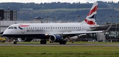 G-LCYT (PrestwickAirportPhotography) Tags: egpf glasgow airport british airways embraer emb190 glcyt