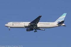 CS-TSU - 2002 build Boeing B767-34PER, on approach to Runway 23R at Manchester (egcc) Tags: 33048 891 b2491 b763 b767 b767300 b76734per boeing cstsu egcc euroatlantic euroatlanticairways lightroom man mmz manchester ringway yu anytimeanywhere