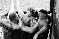 Cool Down (Alice_McCAnn) Tags: candid documentary boy swimming water hot oklahoma family familytime portrait blackandwhite fun outside ngysaex