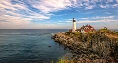 Portland Head Lighthouse (James Korringa) Tags: portland head lighthouse maine scenic clouds ocean