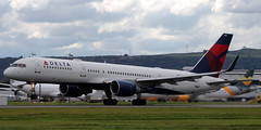 N711ZX (PrestwickAirportPhotography) Tags: egpf glasgow airport delta airlines boeing 757 n711zx b757