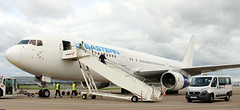N705KW (PrestwickAirportPhotography) Tags: egpf glasgow airport eastern airlines boeing 767 b767 n705kw