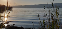 Sunset (borisnaumoski) Tags: ohrid macedonia lake sunset october autumn nature