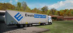 Autumn vibes (gripshotz) Tags: ewals cargo care romania renault range t krone mega liner trailer skin euro truck simulator ets 2