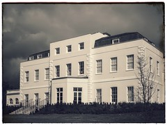 RAF Uxbridge – HQ 2nd TAF – 1944 … (marc.barrot) Tags: avmsirkeithpark shotoniphone vintage monochrome architecture victorian raf 2ndtaf 11group headquarters uk ub10 london uxbridge hillingdonhouse