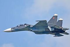 "Sukhoi Su-30SM RF-81881/""77 Blue"" (Nils Mosberg) Tags: sukhoisu30smflankerh russiannavalaviation maks2019 zhukovsky rf81881"