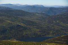Lost in the Landscape (steve_whitmarsh) Tags: aberdeenshire scotland scottishhighlands highlands cairngorms tsagairtmor mountain hills water loch lochcallater glen glencallater landscape nature topic