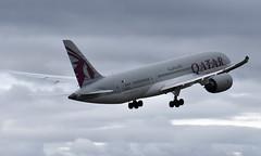 Qatar A7-BCS, OSL ENGM Gardermoen (Inger Bjørndal Foss) Tags: a7bcs qatar boeing 787 dreamliner osl engm gardermoen