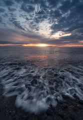 Fading light... Fast (Chris Mitchell 1982) Tags: fairytale mood moody seascape lakedistrict landscape sunset bluehour harrington cumbria atmosphere