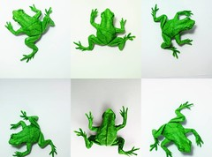 Tree Frog (GGIamBatman) Tags: origami papiroflexia rana tree frog satoshi kamiya anfibio