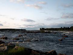 (helena.e) Tags: helenae norrland semester holiday vacation husbil rv motorhome älsa kukkola kukkolaforsen torneälv water vatten älv river camping kukkolaforsenturistkonferens