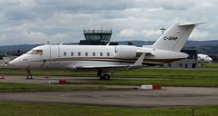 C-GFAP (PrestwickAirportPhotography) Tags: egpf glasgow airport bombardier challenger 605 cgfap