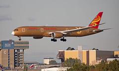 B-1343 - Boeing 787-9 Dreamliner - LHR (Seán Noel O'Connell) Tags: hainanairlines b1343 boeing 7879 dreamliner b787 b789 787 heathrowairport heathrow lhr egll csx zgha hu421 chh421 27l aviation avgeek aviationphotography planespotting