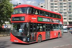LT105 LTZ 1105 (ANDY'S UK TRANSPORT PAGE) Tags: buses metroline london hydeparkcorner nbfl