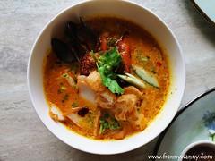 babu 2 (frannywanny) Tags: gochugang beefier babu thegridfoodmarket foodhall powerplantmall menu singaporean burger korean comfortfood