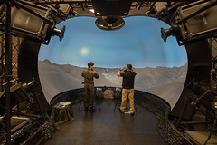 """A simulator system provides a realistic environment for U.S., ROK forces to train together (#PACOM) Tags: osanab 51fw republicofkorea mustangs apd airshow community camaraderie usfk usindopacificcommand """"usindopacomosan air basesouth korea"""