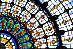 Sostre @ Hotel Gellert @ Budapest (vdbdc) Tags: sostre ceiling roof hotel gellert budapest stained glass window vidriera vitrall vidre vidrio llum light luz