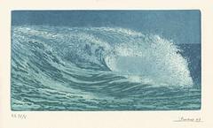 Wild wave (BrooksieC) Tags: shorebreak art watercolour lolamoreno wave sea
