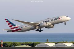 Boeing 787-8 Dreamliner N804AN American Airlines (msd_aviation) Tags: american americanairlines chicago bcn lebl ord ohare elprat aviation aviationphotography boeing 787 dreamliner n804an