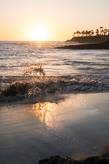Sunset on Laguna Beach, California (ChrisGoldNY) Tags: chrisgoldphoto chrisgoldny chrisgoldberg bookcovers albumcovers licensing sony sonyalpha sonya7rii sonyimages lagunabeach california socal cali orangecounty laguna westcoast beach beaches playa water ocean sea pacific sunset sunsets waves reflections palmtrees