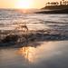 Sunset on Laguna Beach, California