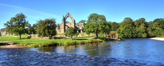 Bolton Abbey (cassidymike21) Tags: abbey river water ruin heritage
