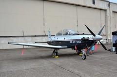 T-6 Texan II, U. S. Air Force, (06-828) Minnesota, Duluth Air Show 2019 (EC Leatherberry) Tags: usairforce duluthminnesota minnesota stlouiscounty aircraft military duluthairshow2019 t6texanii traineraircraft 2006