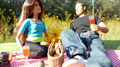 Golden Picnic - Azalea Amore 2019 (MayorPaprika) Tags: panasoniclumixdmcfz1000 16 custom diorama toy story paprihaven action figure set doll barbie mtm madetomove mattel wpk worldpeacekeepers