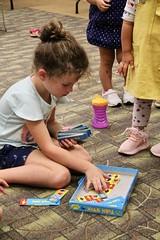 PJ_Book_Buddies98 (Fairfax County Public Library) Tags: pj book buddies program fairfax story books crafts programs children time jewish holidays jcc library