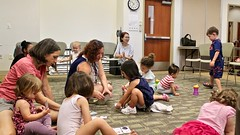 PJ_Book_Buddies2 (Fairfax County Public Library) Tags: pj book buddies program fairfax story books crafts programs children time jewish holidays jcc library