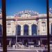 Union Station multi-shot panorama on half-frame 35mm