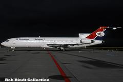 Yemenia - Yemen Airways B727-2N8/Advanced 7O-ADA (planepixbyrob) Tags: yemen yemeniaairways boeing 727 727200 7oada fra frankfurt flughafen kodachrome