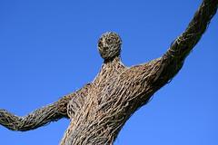 Photo of Wicker Man restored